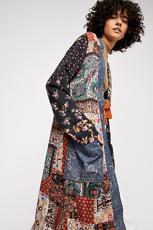Songbird Patched Coat