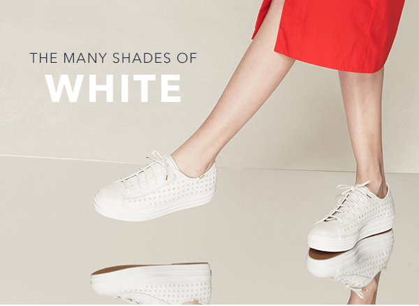 THE MANY SHADES OF WHITE
