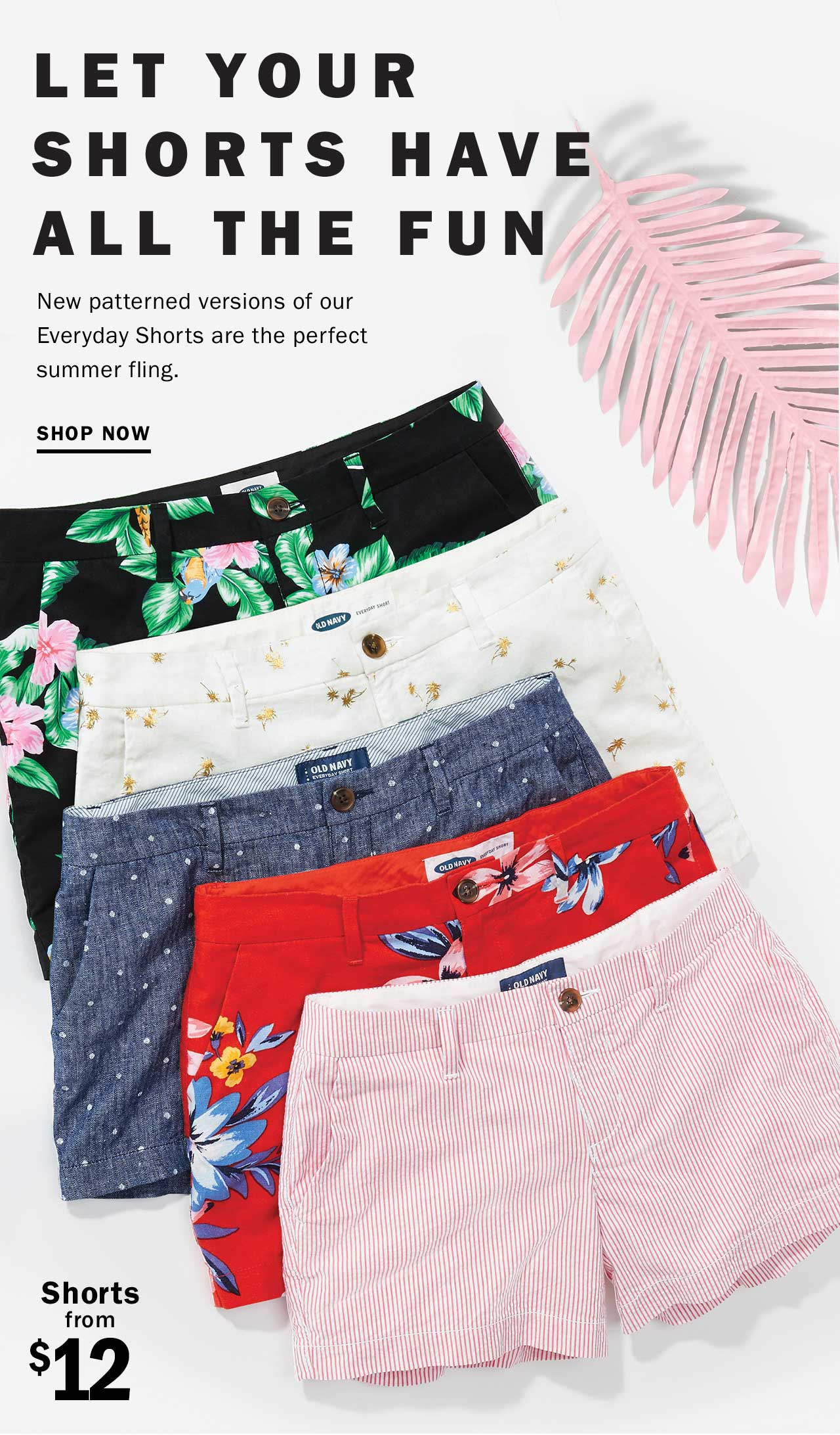 LET YOUR SHORTS HAVE ALL THE FUN | SHOP NOW | Shorts from $12