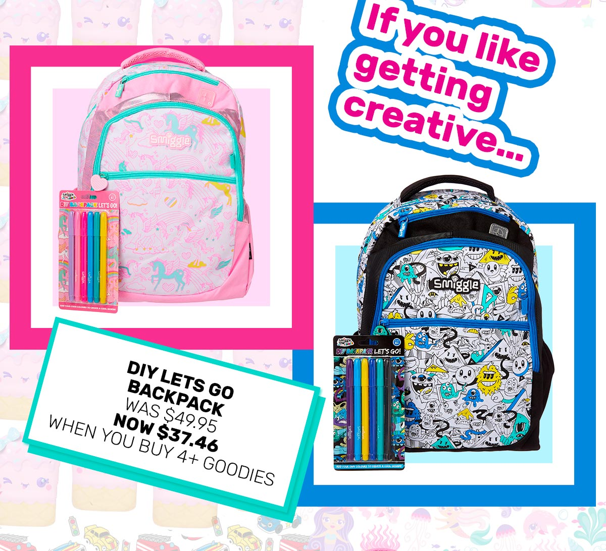 8f0468d0fdf5 Smiggle  Extended! Buy any 4   get 25% off now instore for VIPs ...