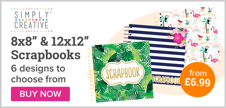 NEW Simply Creative Scrapbooks