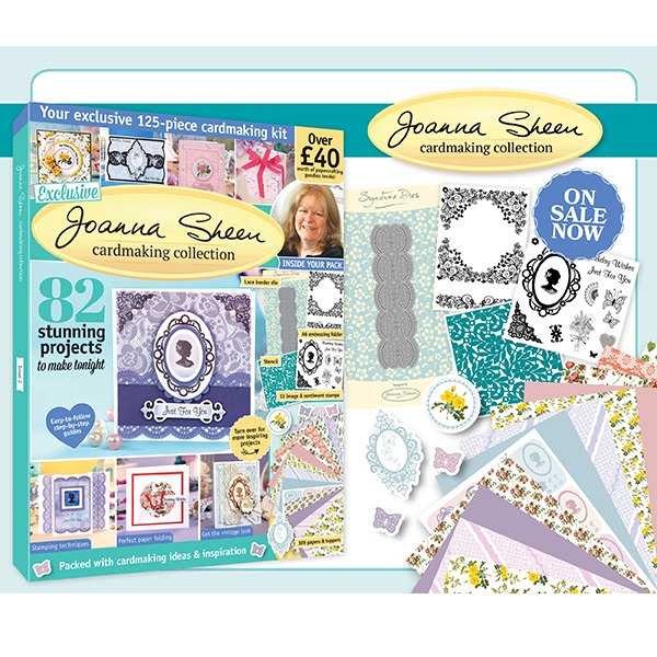 Cardmaking Collection Joanna Sheen Special Magazine & Kit #02