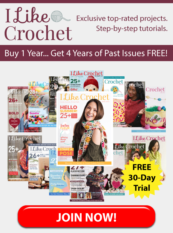 Red Heart Youve Been Gifted 4 Years Of Crochet Patterns Milled