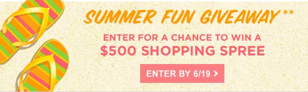 Enter Summer Fun Giveaway