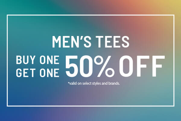 Sale: Men's Tees - Buy 1, Get 1 50% Off | Shop Men's Sale Tees Now