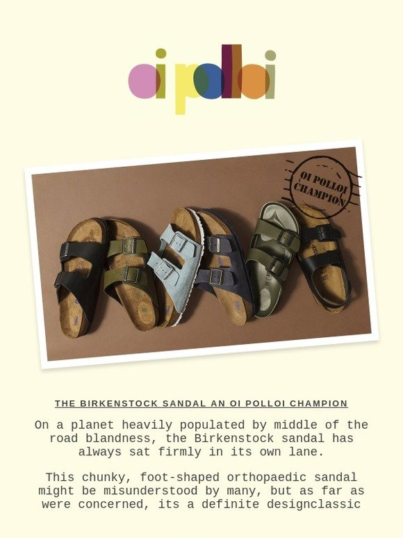 4239f40f50d78 Oi Polloi  The Story of the Birkenstock Sandal (and Roy Hodgson s Timeless  Style)