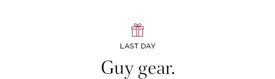 Guy gear.