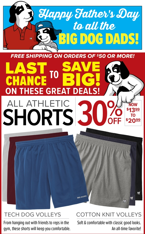 BIGDOGS com: LAST CHANCE - 4 Great Deals! | Save BIG on