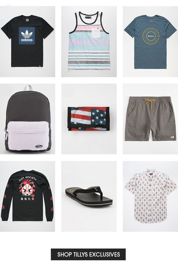 Shop Tillys Exclusives for Men