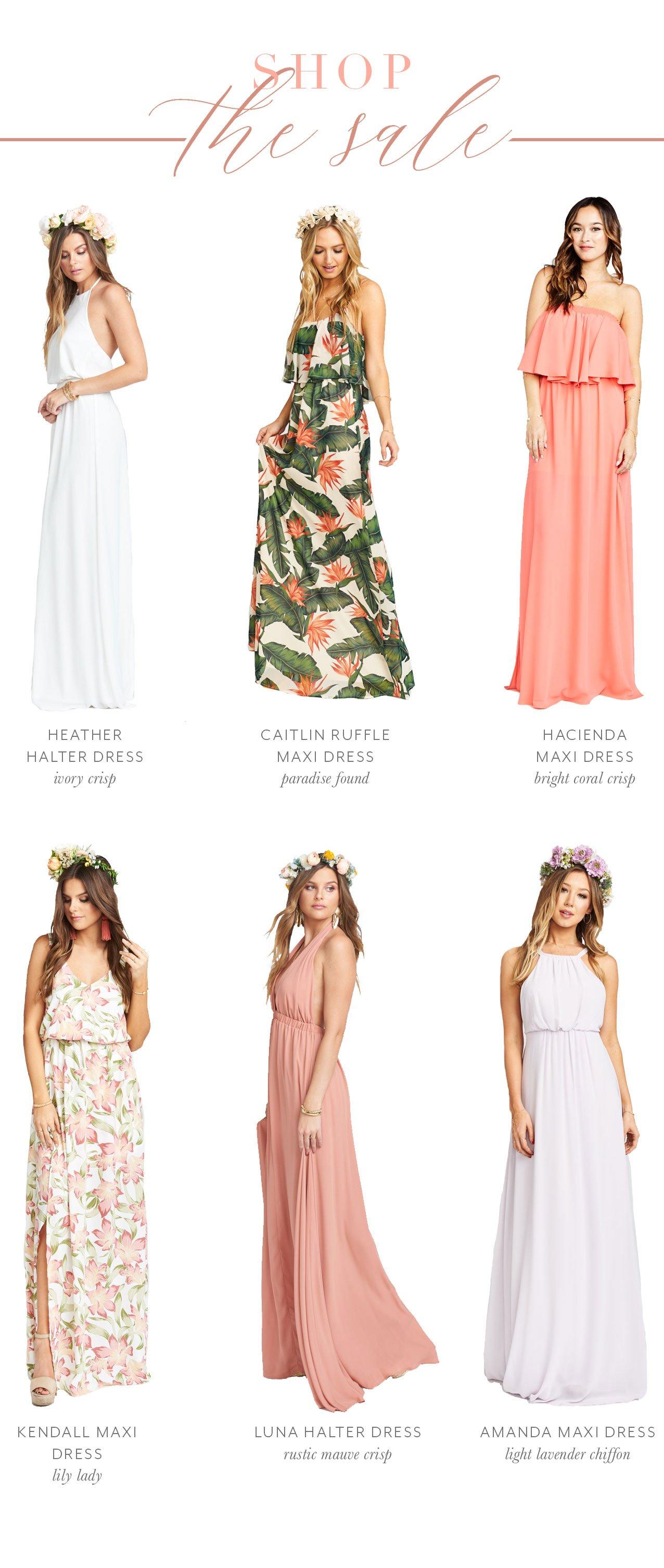 Show Me Your Mumu Flash Sale 40 Off Select Bridesmaids Dresses