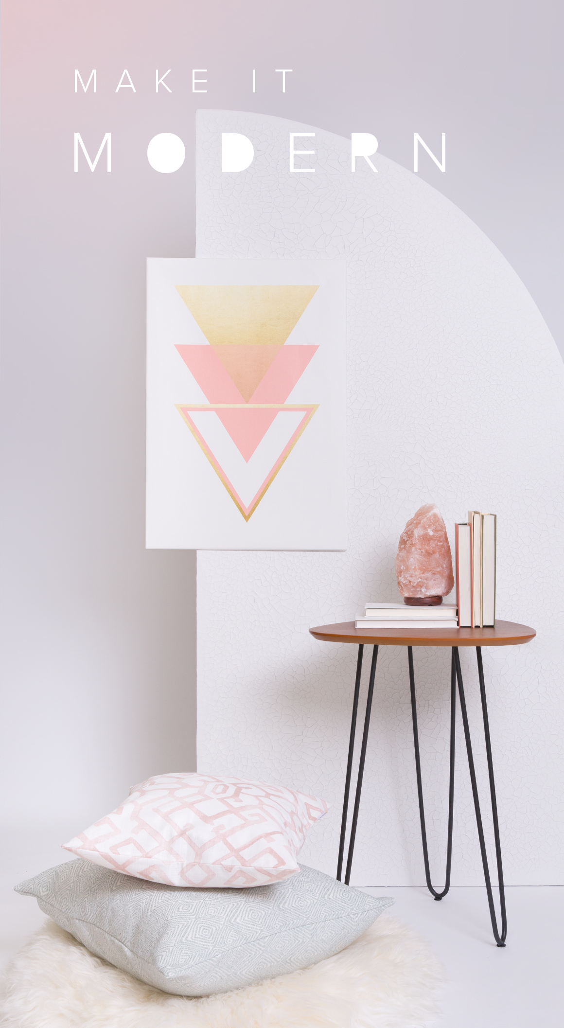 Give Your Room A Retro Modern Refresh With These Sleek Shapes,