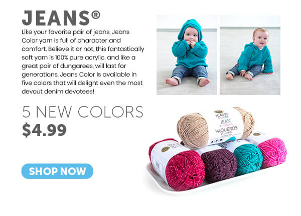 Jeans Color Yarn. SHOP NOW.