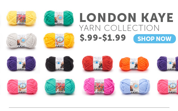 London Kaye Yarn Collection. SHOP NOW.