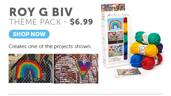 Roy G Biv Theme Pack. SHOP NOW.