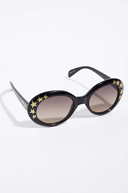 Outta Sight Star Printed Sunglasses