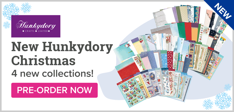New Hunkydory Christmas New Collections!