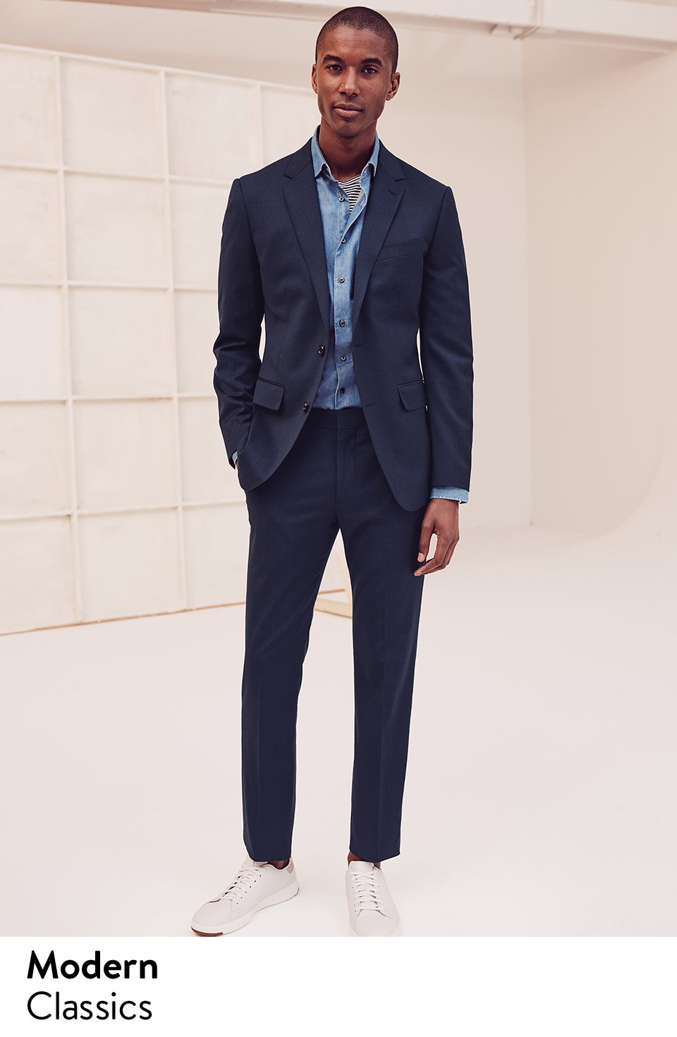Nordstrom Win At Business Casual Suit Separates Sneakers