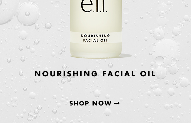 Nourishing Facial Oil $10. Shop Now
