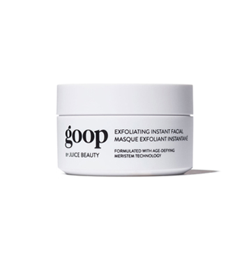 Exfoliating Instant Facial, goop x Juice Beauty