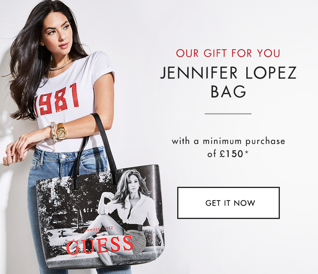 9dd92ce413 *Offer valid until stock lasts with a minimum purchase of 150 net of any  discounts, on guess.eu. Promotion valid online only on Guess.eu, on Guess,  ...