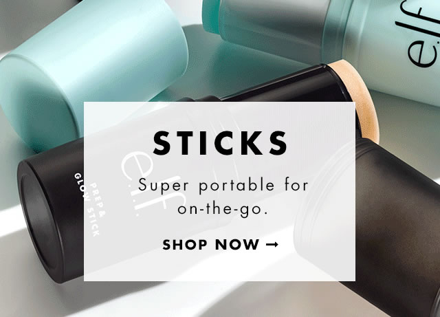 Sticks. Super protable for on-the-go. Shop Now
