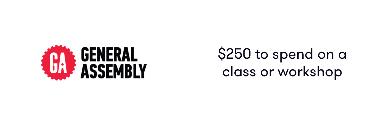 $250 to spend on a class or workshop