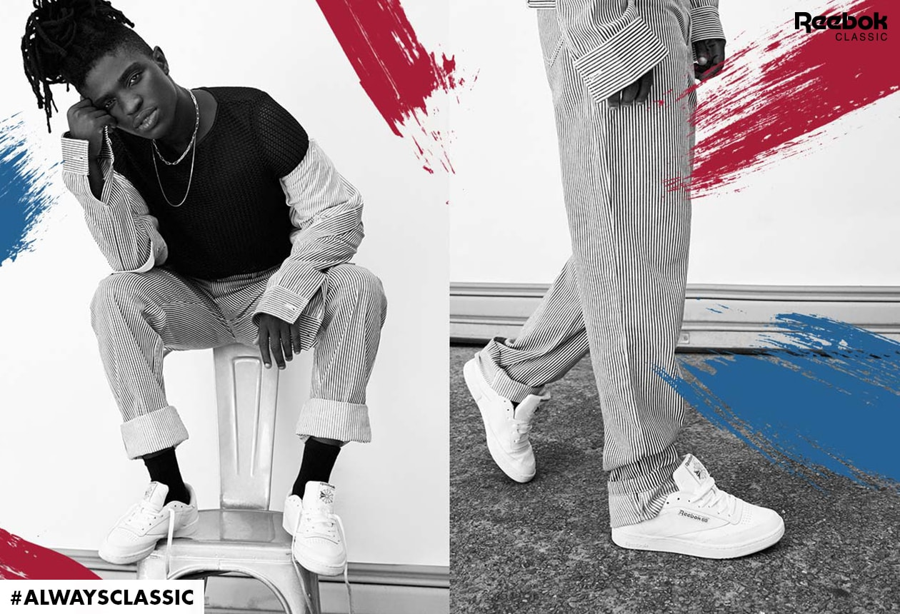 61367012d142 Reebok present the Always Classic campaign