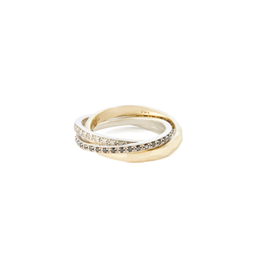 Nancy Newberg Triple Ring $2,400