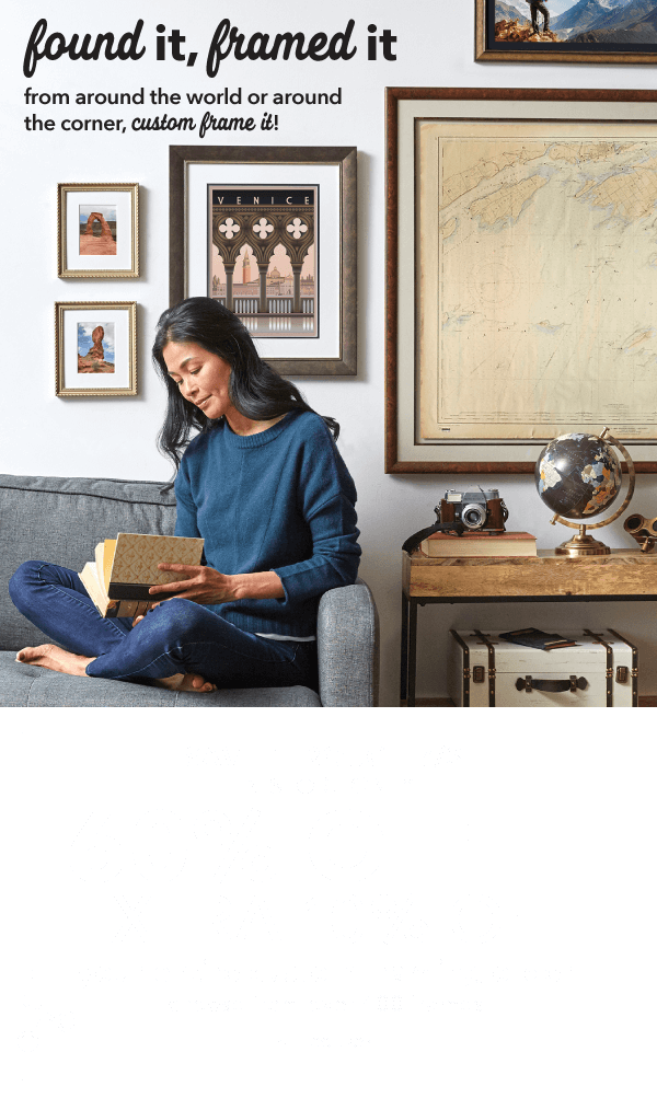 Save through 7/3. 60% off + extra 10% off Your Entire Custom Framing Order Choose from over 400 Frames. GET COUPON.