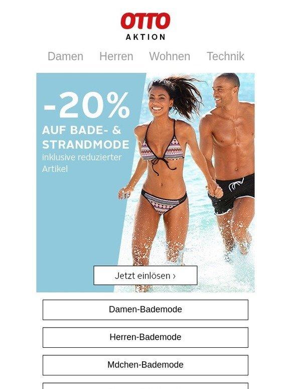 Otto Summer Sale 20 Auf Bade Strandmode Inkl Reduzuierter