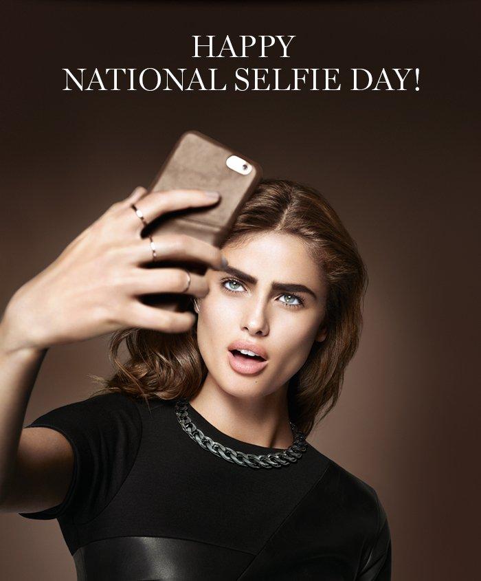 HAPPY NATIONAL SELFIE DAY!