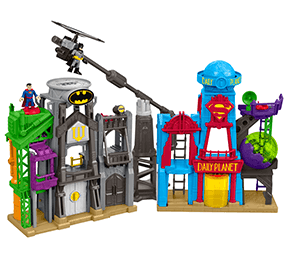 Fisher-Price DC Super Friends Imaginext Super Hero Flight City