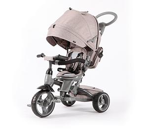 Q Play NI:CO 6-in-1 Trike Grey