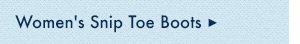 Womens Snip Toe Boots