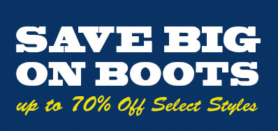 Save Big on Boots