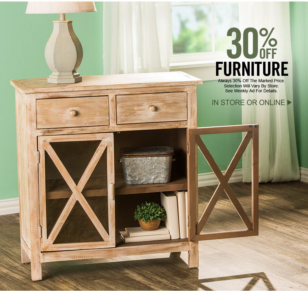 Hobby Lobby: Farmhouse Furniture Sale!   Milled