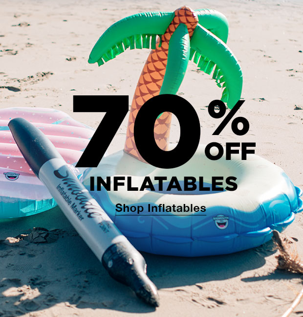 70% OFF INFLATABLES - Shop Now