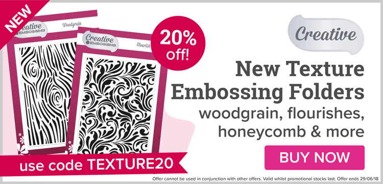 NEW Creative Texture Embossing Folders