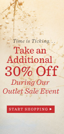 30% Off Our Outlet