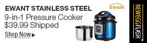 Newegg Flash - Ewant Stainless Steel 9-in-1 Pressure Cooker