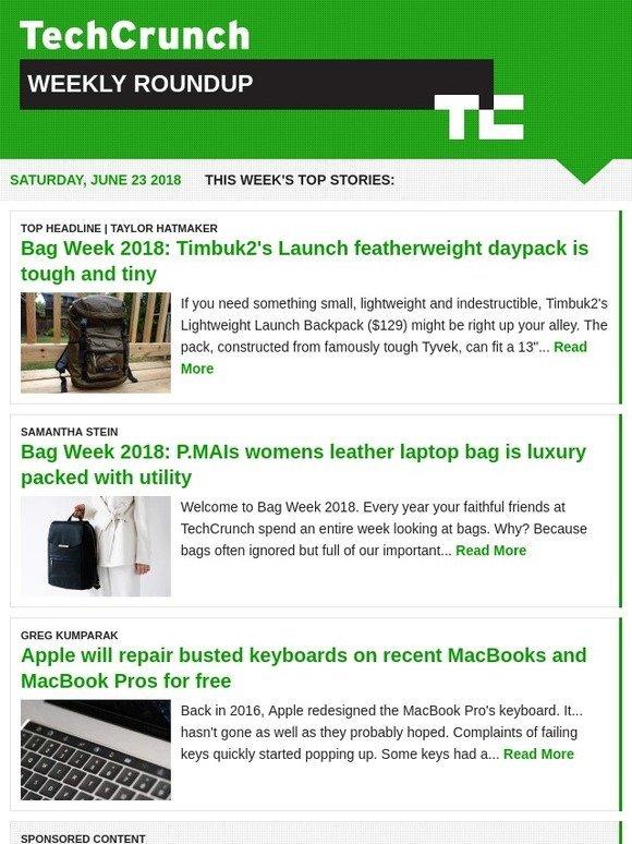6cf35e07b249 TechCrunch  Week-In-Review    June 23