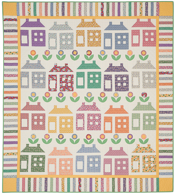 House and Garden Pattern