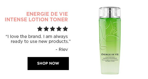 "ENERGIE DE VIE INTENSE LOTION TONER - ""I love brand. I am always ready to use new products."" - Riev - SHOP NOW"