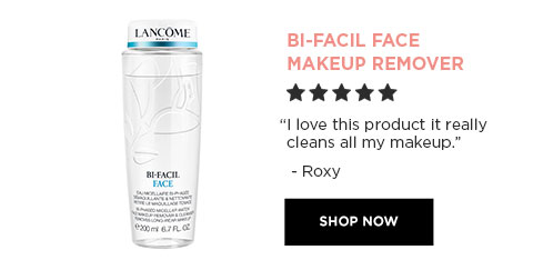 "BI-FACIAL FACE MAKEUP REMOVER - ""I love this product it really cleans all my makeup."" - Roxy - SHOP NOW"