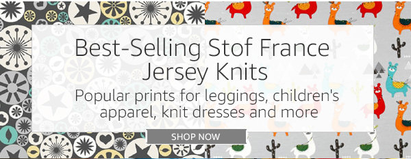 Stof France fabric: best-selling jersey knits from stof france | milled