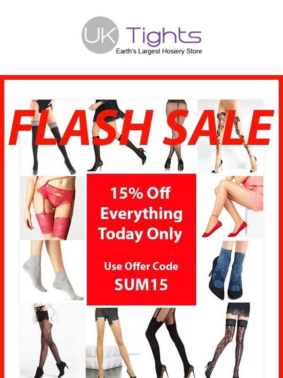 34440fbeefd UK Tights  Hurry Summer Flash Sale 15% Off Everything Today