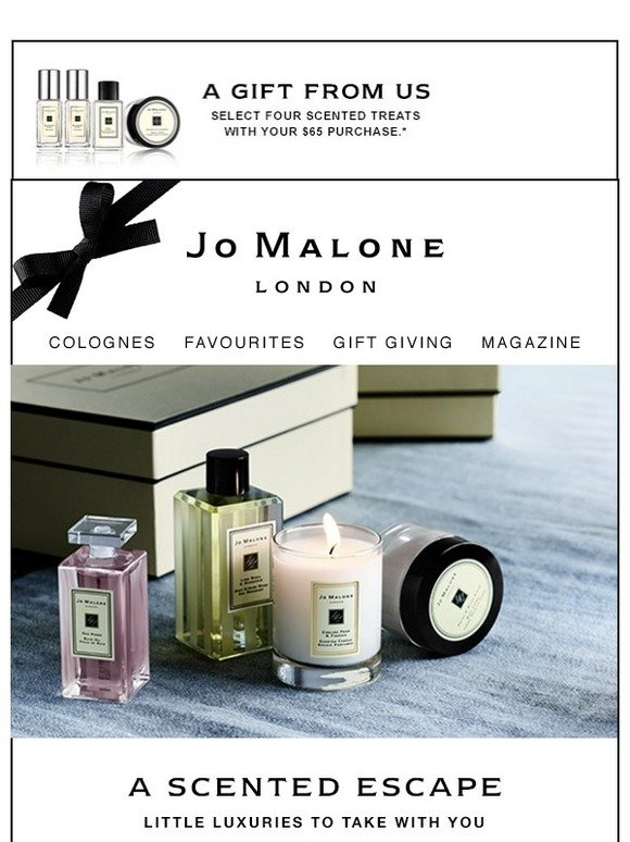 Jo Malone London Fragrant Essentials For The 4th Of July Milled