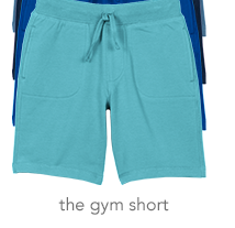 the gym short