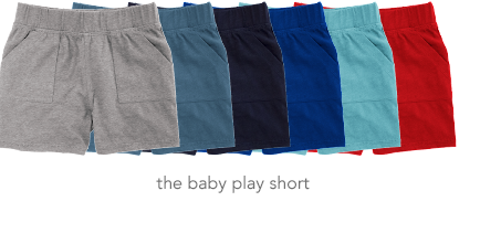 the baby play short