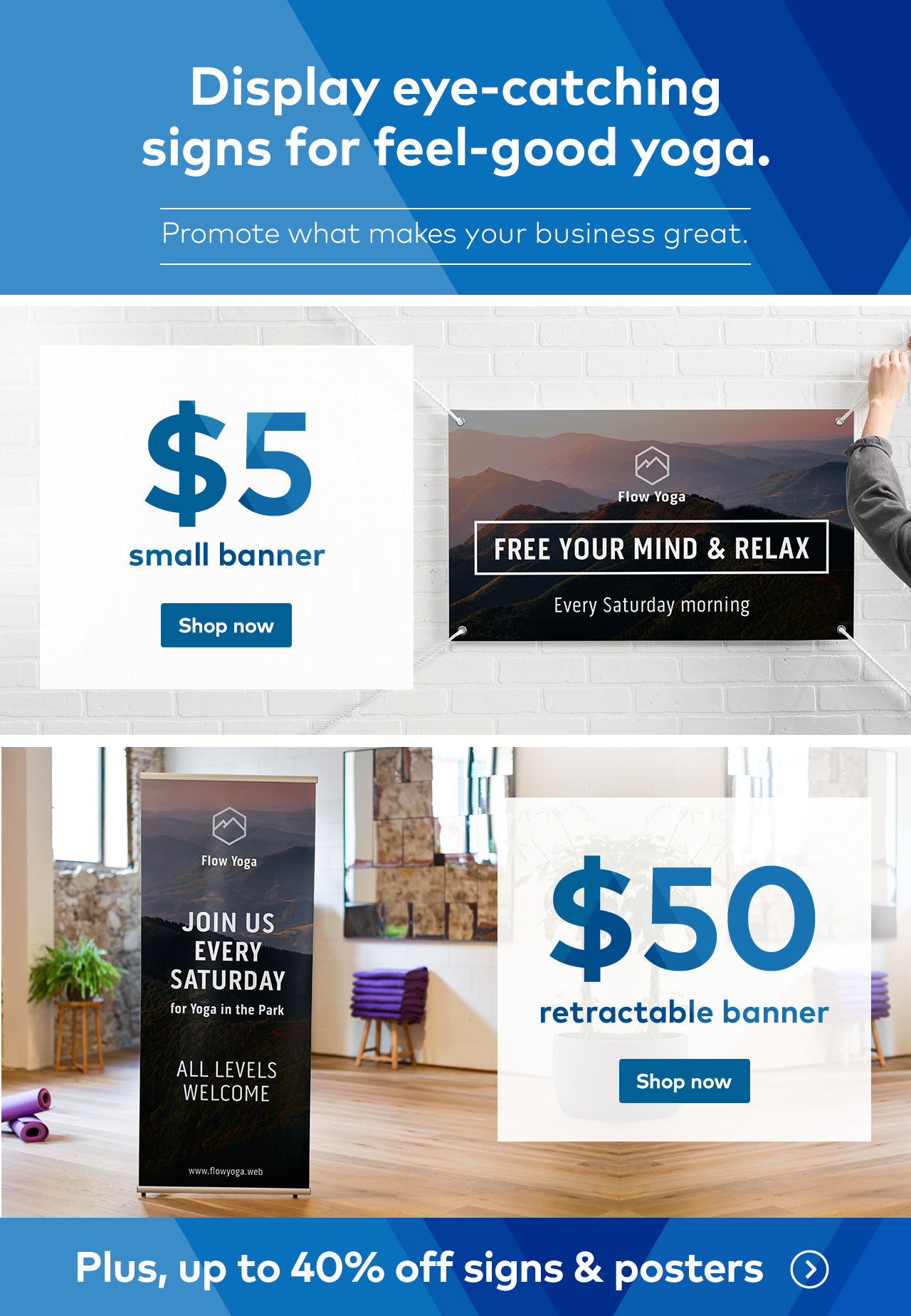 Promote what makes your business great